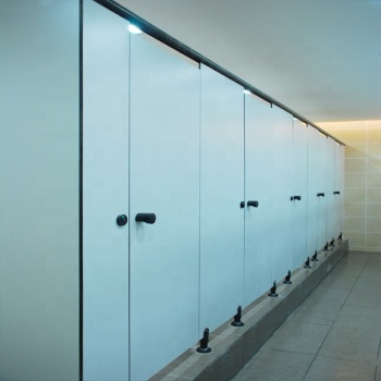 Debo high quality popular design cheap hpl toilet cubicle system