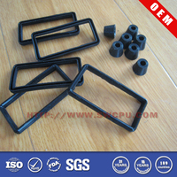 High temperature rubber gasket for outdoor lighting
