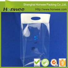 Wholesale plastic pvc clear gift bags