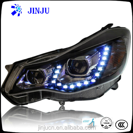 High brightness modified headlamp assembly for 2012 Subaru XV car LED light auto headlight