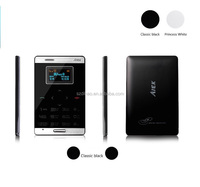 DIHAO mini Touch Mobile smartphone AIEK M3 Ultra-thin Watch Pocket phone smallest mobile phone