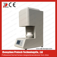 Easy operating energy saving dental zirconia sintering furnace