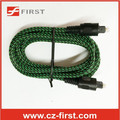 Nylon braid sleeve price per meter for audio toslink optical cable