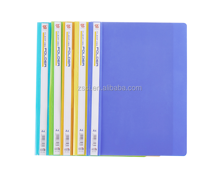 Popular Best-selling Report file/Chinese manufacturer A4 clamp file/pp file folder