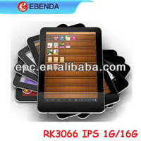 7 inch android 4.1 RK3306 dual core IPS tablet