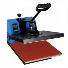 Hand control cheap used t shirt heat press machine t shirt printing machine