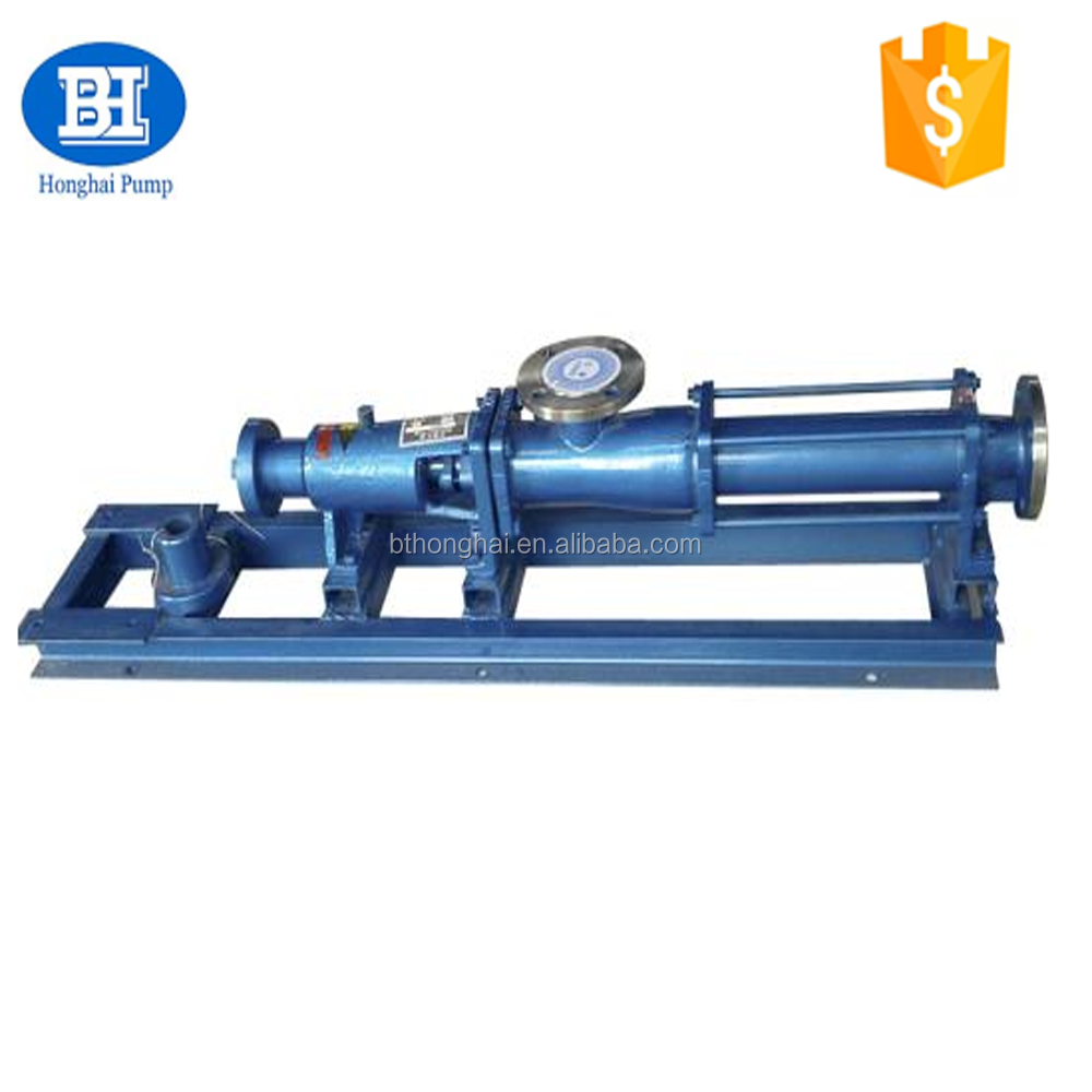 G series stainless steel mono screw pumps