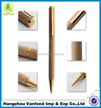 Luxury Business Gift High Quality Slim Wooden Ball Pen
