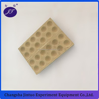 bone ash cupes 12 hole bullion blocks 24 hole cupel block