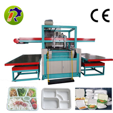 Automatic disposable food box making machine / ps food container production line