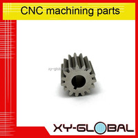 oem custom precision cnc machining parts ,pinion gear,bearing bush fitting from china supplier