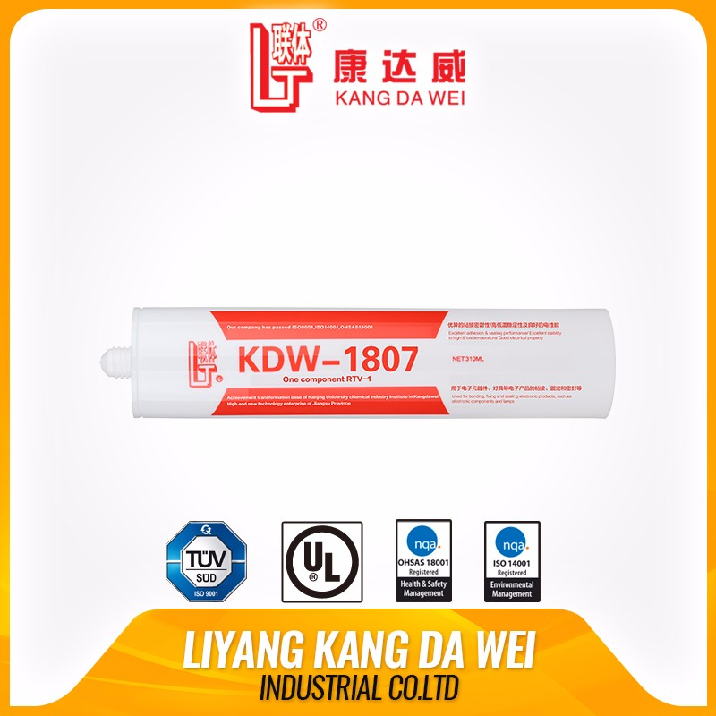 Netural silicone sealant for electronics