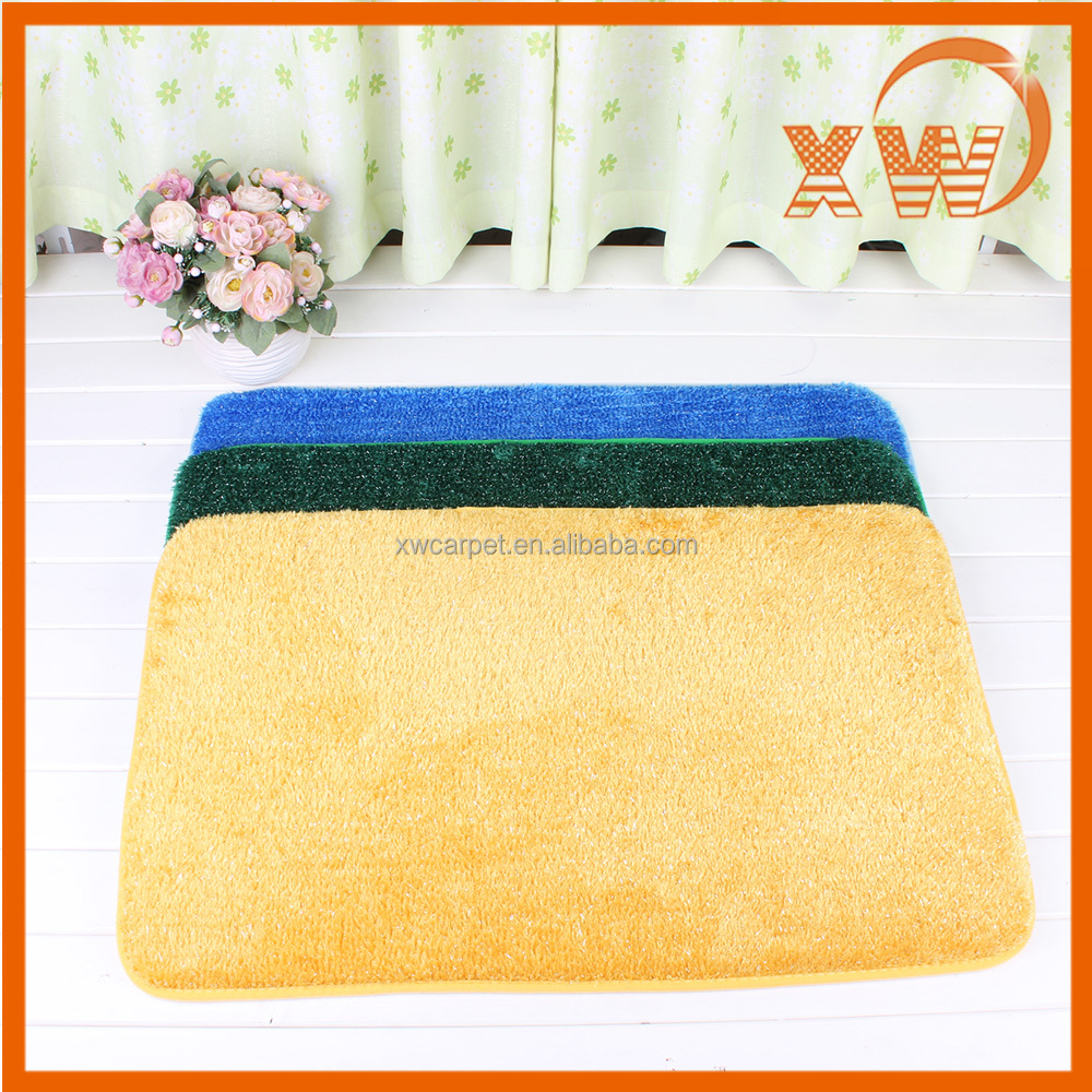 China factory hot sale hand woven india wool polyester microfiber rug