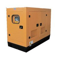 1500 rpm natural gas generating set with soundproof canopy