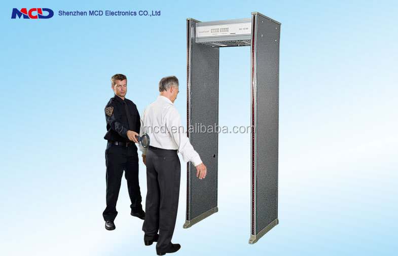 Walk Through Metal Detector 6 Detect Zones MCD-300