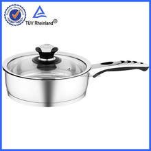 induction fried pan with long handle for kitchenware