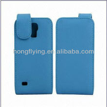 flip Genuine/PU Leather Cases for Samsung Galaxy S4 Mini Manufacture, All color are available