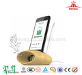 Hairong Cell Phone Charging Dock Bamboo Wood Support Creative Pen Container Sound Amplifier USB Charging Dock Station for PHONES