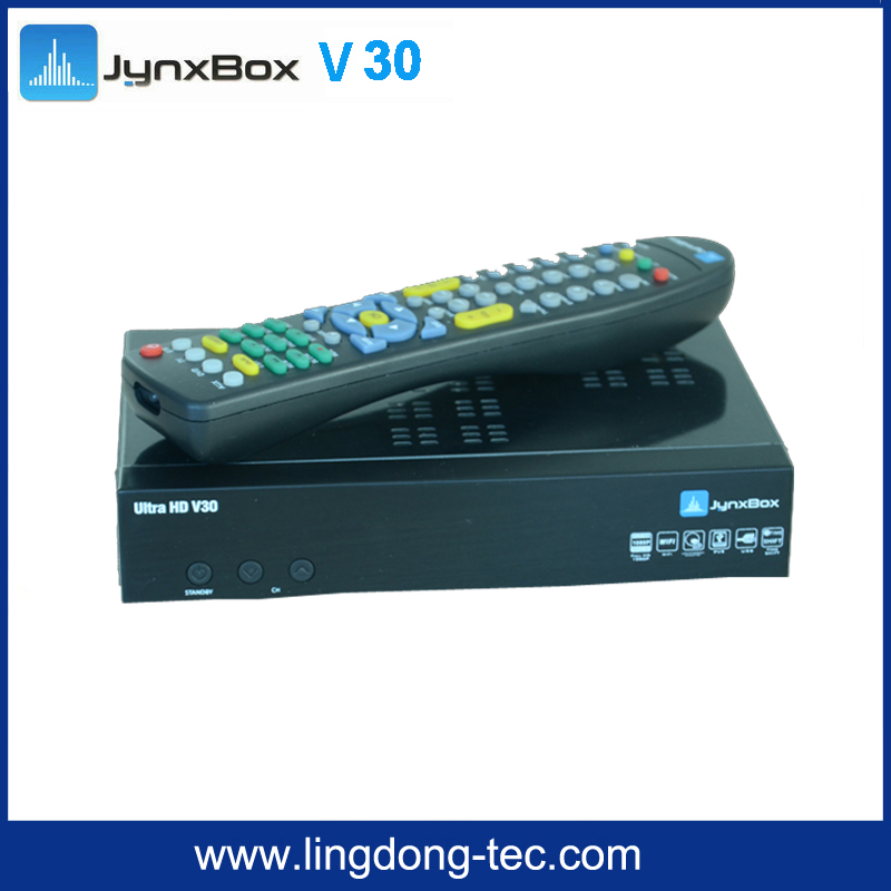 2016 new Jynxbox ultra hd v6 hd free and jynxbox v30 for North America