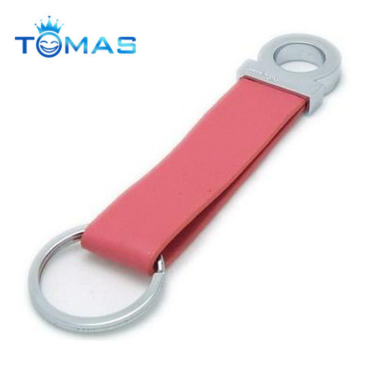 Guangzhou promotional and cheap leather keychain for women