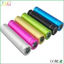 Hot Sell Cheapest Lipstick Promotion Gift Anker Power Bank 2600mah