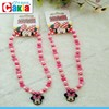 Latest Design Minnie Pink Bead Necklace