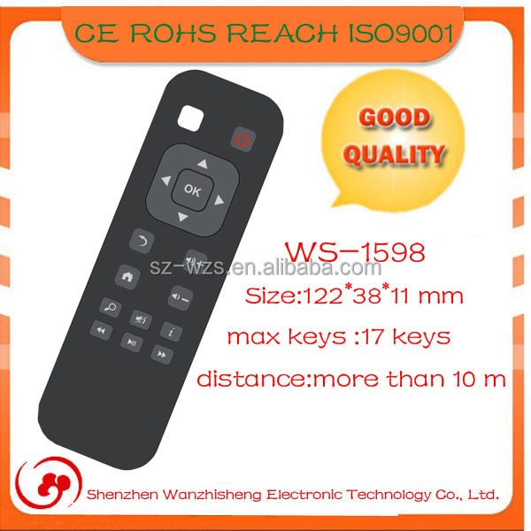 google tv box android 2.4G wireless remote control