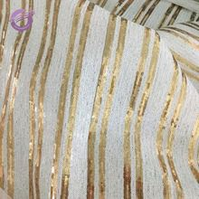 MX0131E New decoration wedding sequin strip hand embroidery designs table cloth