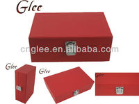 lxuury christmas gift leather jewelry package box