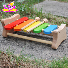 2017 new design baby toy wooden mini xylophone W07C048