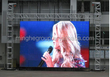 Full color P10 led display video/Electric led screen