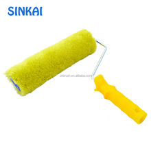 All size plastic handle roller paint brush with design