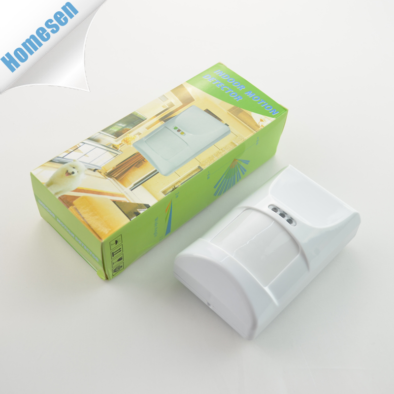Indoor 433mhz Passive Infrared Wireless Burglar Alarm