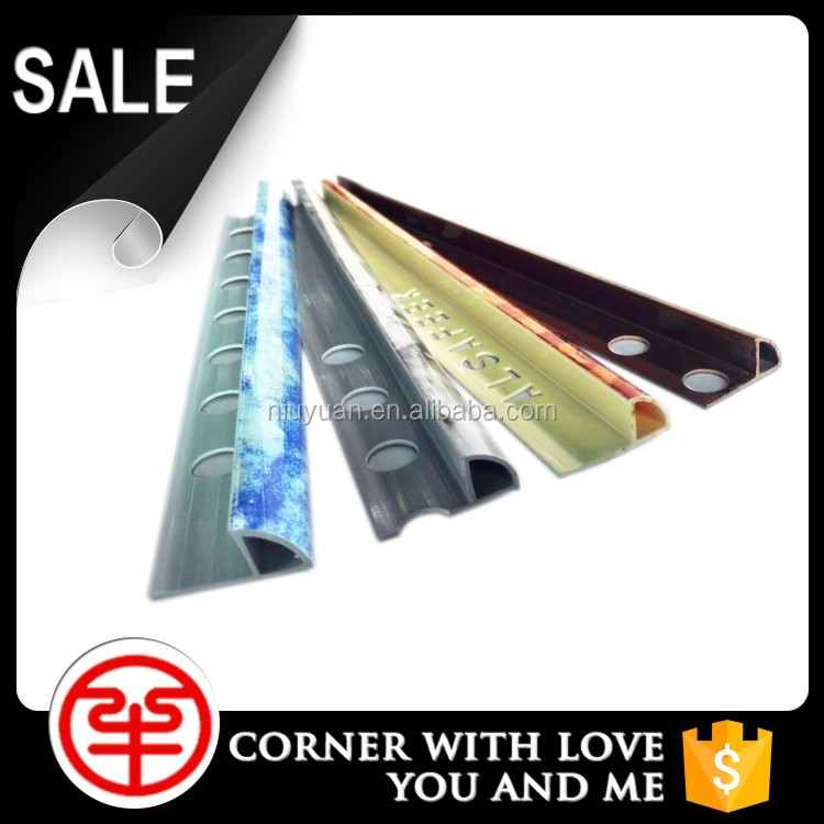 Sales promotion good quality resin PVC wall tile edging strip