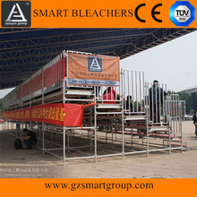 Wholesale high capacity bleachers ,outdoor grandstand seating,stadium platform seating