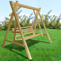 Hot sale Patio wood Swing for garden