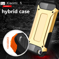 Heavy Duty Armor touch hybrid Rugged shockproof phone case cover for xiaomi 5