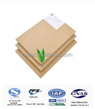 Low price waterproof mdf board for furniture/raw mdf