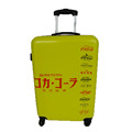 Yellow ABS PC Luggage Suitcase Trolley Luggage For Travel