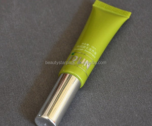 PE soft cosmetic Mascara tubes, plastic cosmetic tube packaging for you order