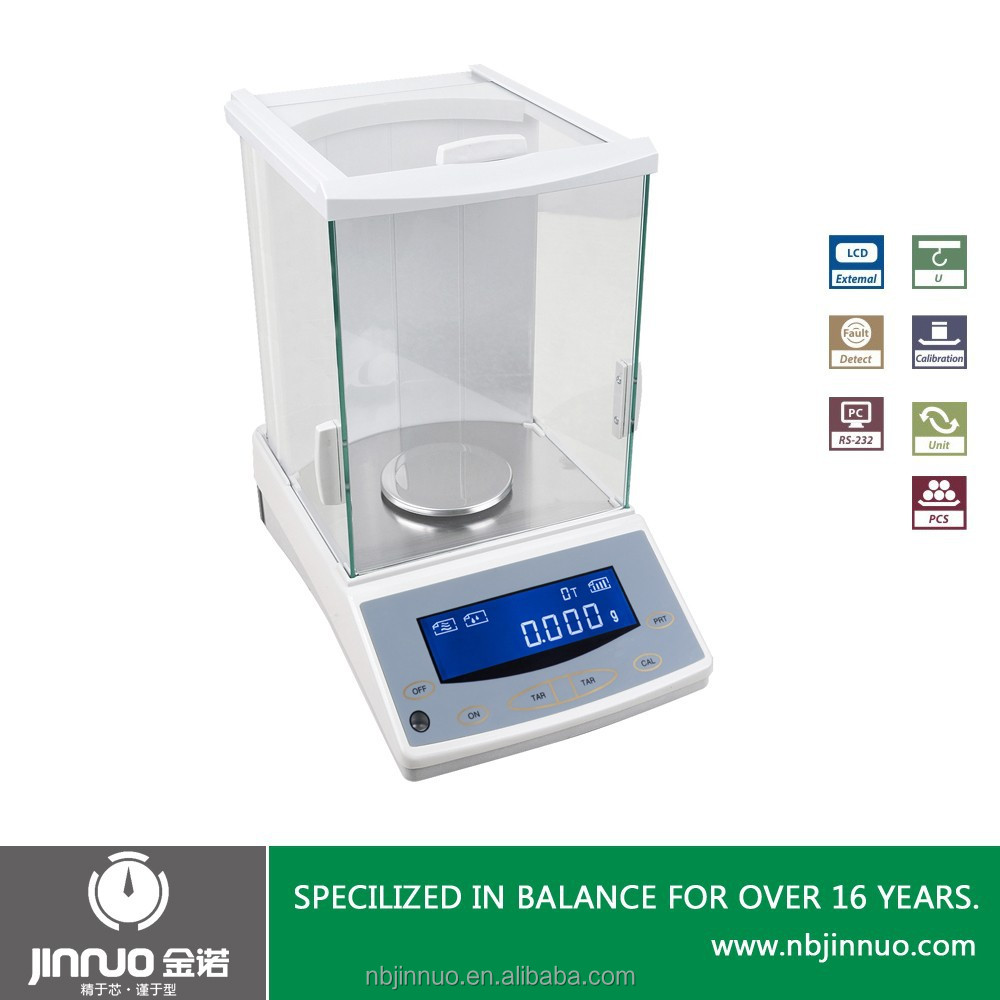 1mg LCD digital magnetic electronic analytical balance