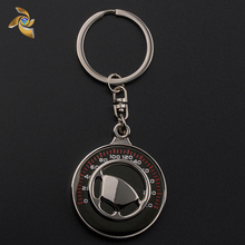 Factory Price Custom Stainless Steel Keychain With Logo