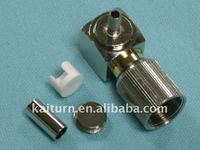 1.5/5.6 Right Angle male plug for RG179 75Ohm