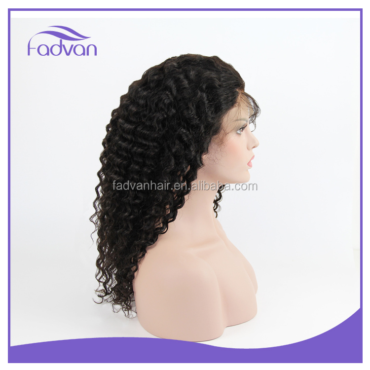 Cheap price 8a grade quality brazilian mongolian remy hair cheap wigs kinky curl front lace wig for black women