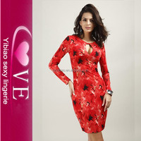 China Wholesale Factory Price Summer Sexy V-neck Slim Night Club Plus Size Bodycon Bandage Dress