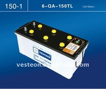 Japan Standard 12V150Ah dry car battery