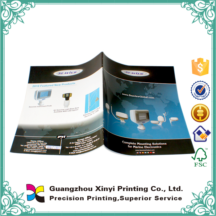 Good service full colors offset printing booklet printer wholesale