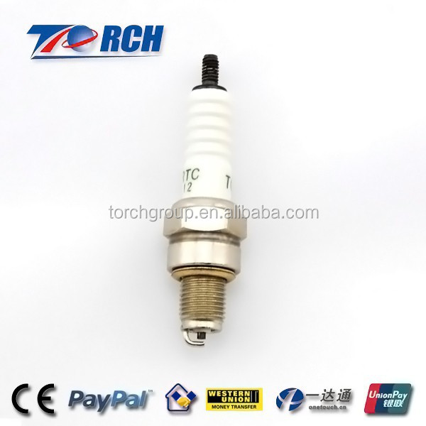 49cc engine for mini motorcycle NGK C7HSA spark plug