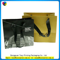 Fashion design customized art paper shoping bag paper gift bag