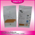 promotional recyclable rice paper stand up pouch